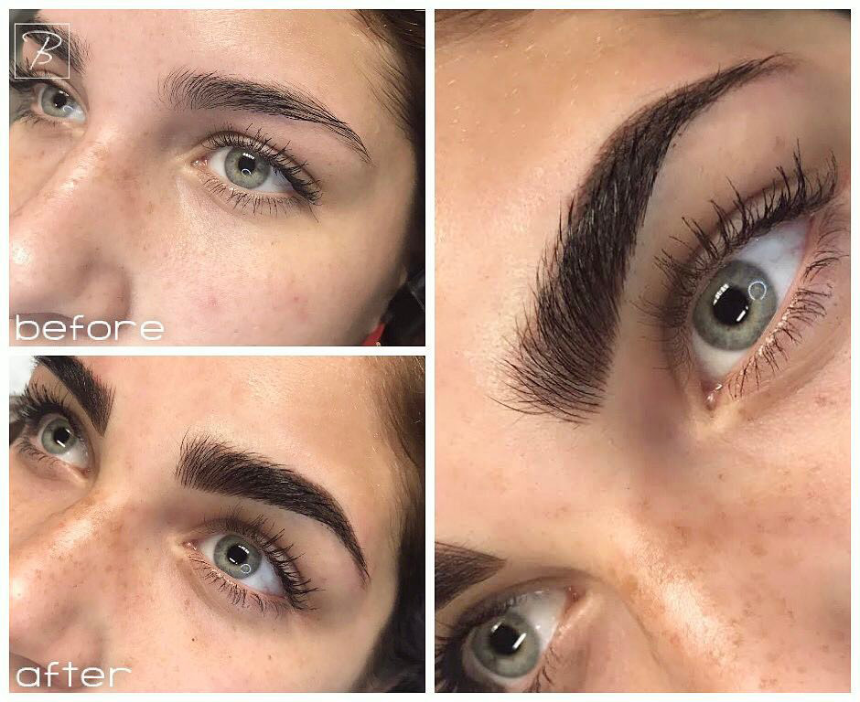 "If you are wanting darker, fuller more of a ""makeup look"" then a combination brow is what you are looking for."